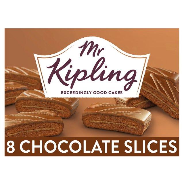 Mr Kipling Chocolate Slices Ocado