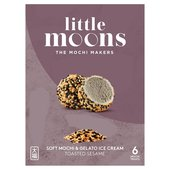 Little Moons Toasted Sesame Mochi Ice Cream