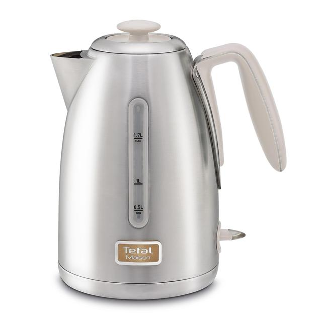 Tefal Maison Stainless Steel Kettle 1.7L, Cream