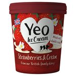 Yeo Valley Organic Strawberries & Cream Ice Cream