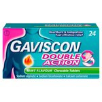 Gaviscon Double Action Mint Tablets