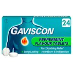 Gaviscon Original Peppermint Tablets