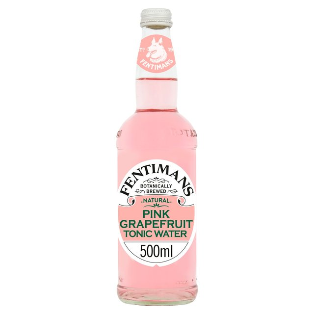 Fentimans Botanically Brewed Pink Grapefruit Tonic Water