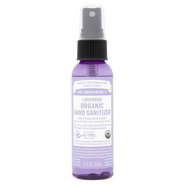Dr  Bronner's Organic Hand Sanitiser, Lavender | Ocado