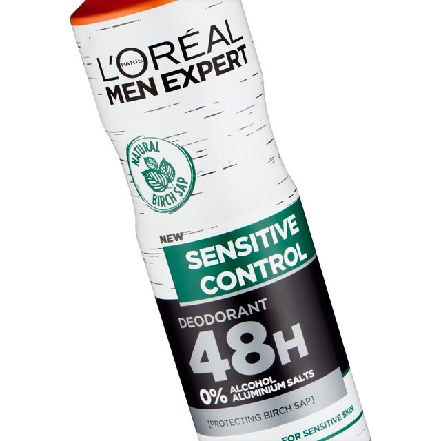 L'Oreal Men Expert Hydra Sensitive Deodorant 150ml from Ocado
