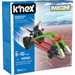 K'NEX Intro Vehicles Rocket Car Building Set, 5yrs+