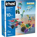 K'NEX 10 Model Building Set, 7yrs+