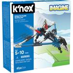 K'NEX Intro Vehicles Stealth Plane Building Set, 5yrs+