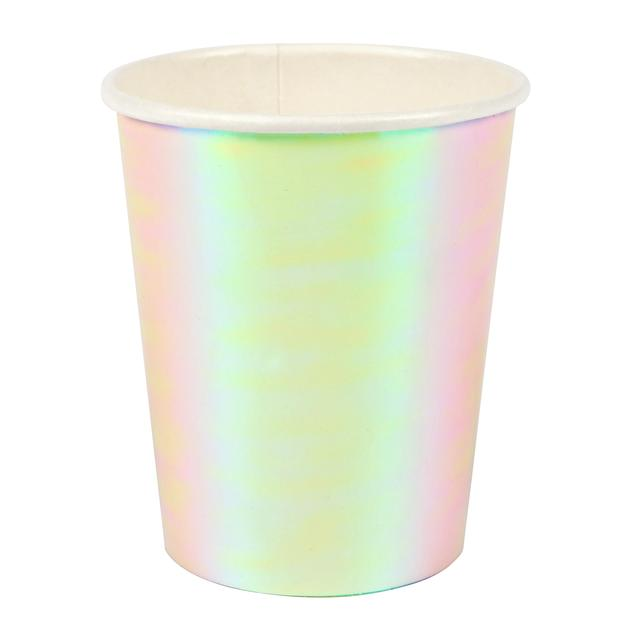 Meri Meri Irisdescent Paper Cups, 255ml