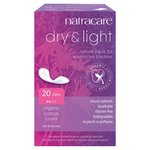 Natracare Pads Natural Dry + Light