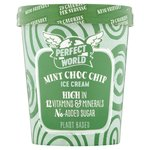 Perfect World Mint Choc Chip Low Calorie Ice Cream