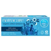 Natracare Organic Tampons Super