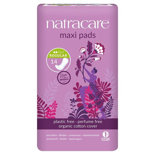 Natracare Organic Natural Maxi Pads Regular