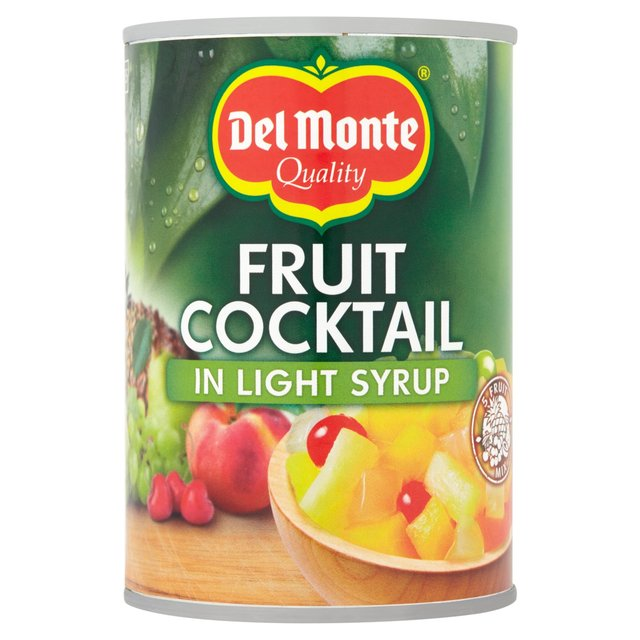Del Monte Fruit Cocktail In Syrup 420g From Ocado