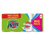 Plenty White Kitchen Roll 400 Sheets