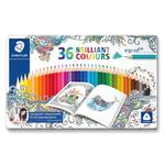 Staedtler Ergosoft Colouring Pencils Johanna Basford Tin