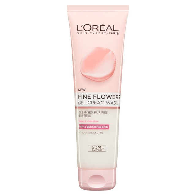 2710d130cfd L Oreal Paris Fine Flowers Cleansing Wash 150ml from Ocado