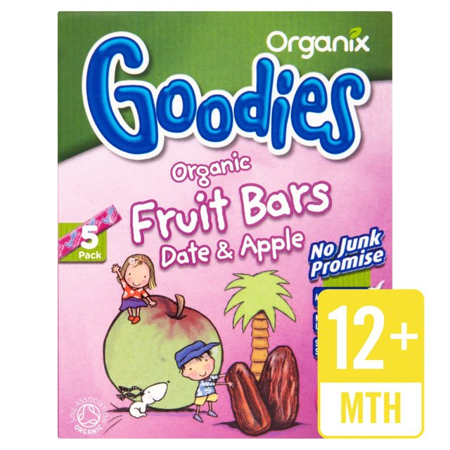 Organix Goodies Organic Date & Apple Fruit Bars