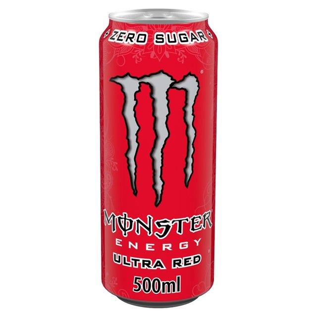 monster energy ultra red 500ml from ocado