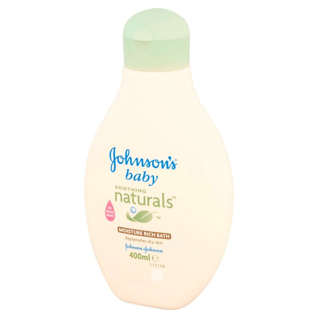Johnson S Baby Soothing Naturals Bath