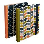 Orla Kiely Flowers Set of Two Ring Binders Flowers