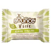 Bounce Almond Spirulina Vegan Protein Energy Ball