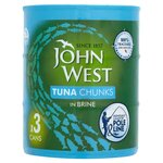 John West Tuna Chunks Brine Pole & Line