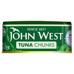 John West Tuna Chunks in Springwater Pole & Line