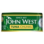 John West Tuna Chunks in Oil Pole & Line