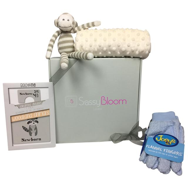 172bf7d1d42a Sassy Bloom New Baby / Baby Shower / Newborn Gift Box from Ocado