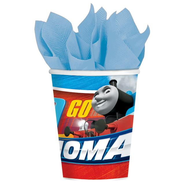 Thomas the Tank Engine Paper Cups, 266ml