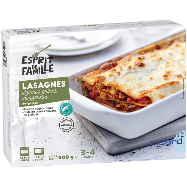 Picard Roast Vegetable Lasagne Frozen Ocado