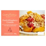 Country Puddings Peach & Raspberry Crumble