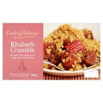 Country Puddings Rhubarb Crumble