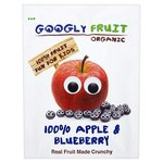 Googly Fruit Organic Freeze Dried Apple & Blueberry