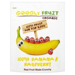 Googly Fruit Organic Freeze Dried Banana & Raspberry