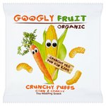 Googly Fruit Organic Crunchy Corn & Carrot Puffs