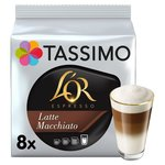 Tassimo L'OR Latte Macchiato Coffee Pods