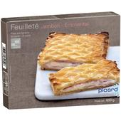 Picard Ham & Cheese Pastry Square Frozen