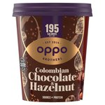 Oppo Low Calorie Ice Cream Colombian Chocolate with Hazelnut