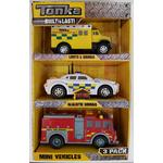 Tonka Toughest Mini UK Emergency Vehicles, 3yrs+