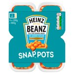 Heinz Beanz No Added Sugar Snap Pot