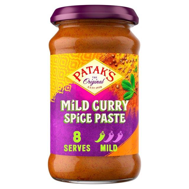 Pataks Mild Spice Paste Ocado