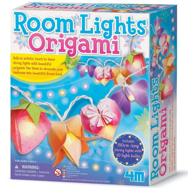 Make Your Own Origami Lights, 5yrs+