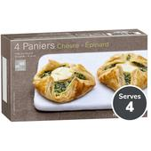 Picard Goats Cheese & Spinach Pastry Frozen