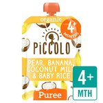 Piccolo Organic Banana, Coconut & Baby Rice