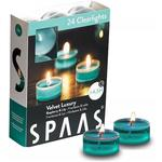 Spaas Clear  Scented Tealights Raspberry & Lily