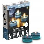 Spaas Clear Scented Tealights Sea Salt & Citrus