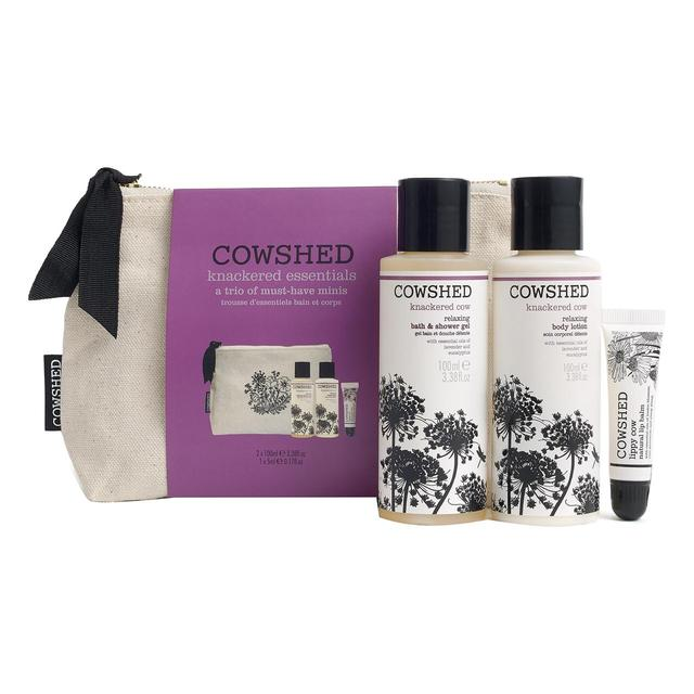 Cowshed Knackered Cow Lavender Gift Set