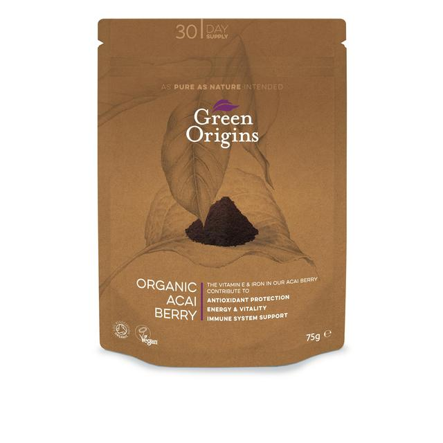 Green Origins Organic Freeze-Dried Acai Berry Powder